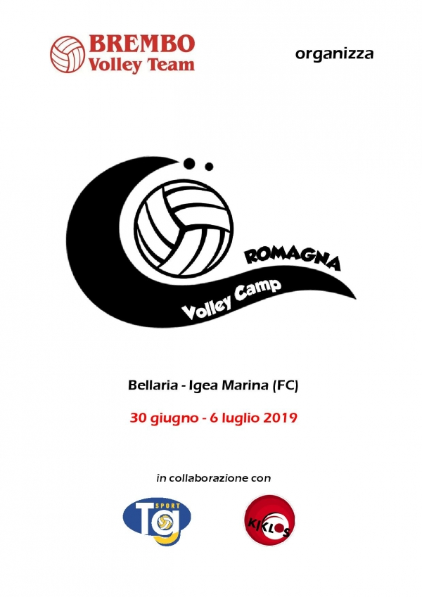 Brembo Volley CAMP 2019 Bellaria